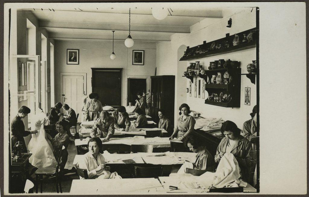 PIRR ok. 1932 – Pracownia szycia