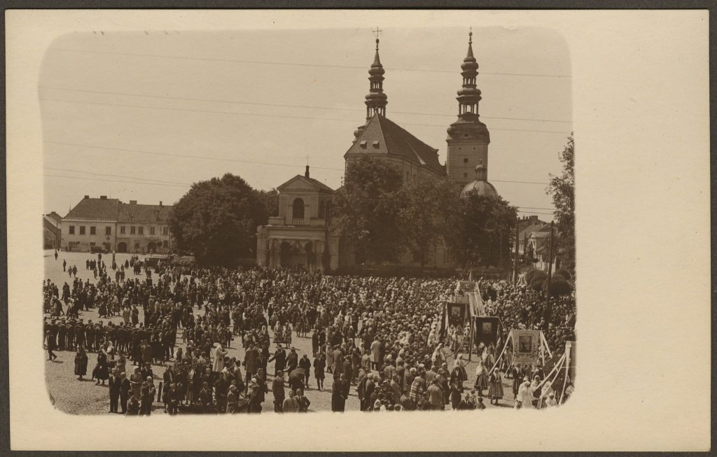 Wycieczka doŁowicza na Boże Ciało 1932 r.
