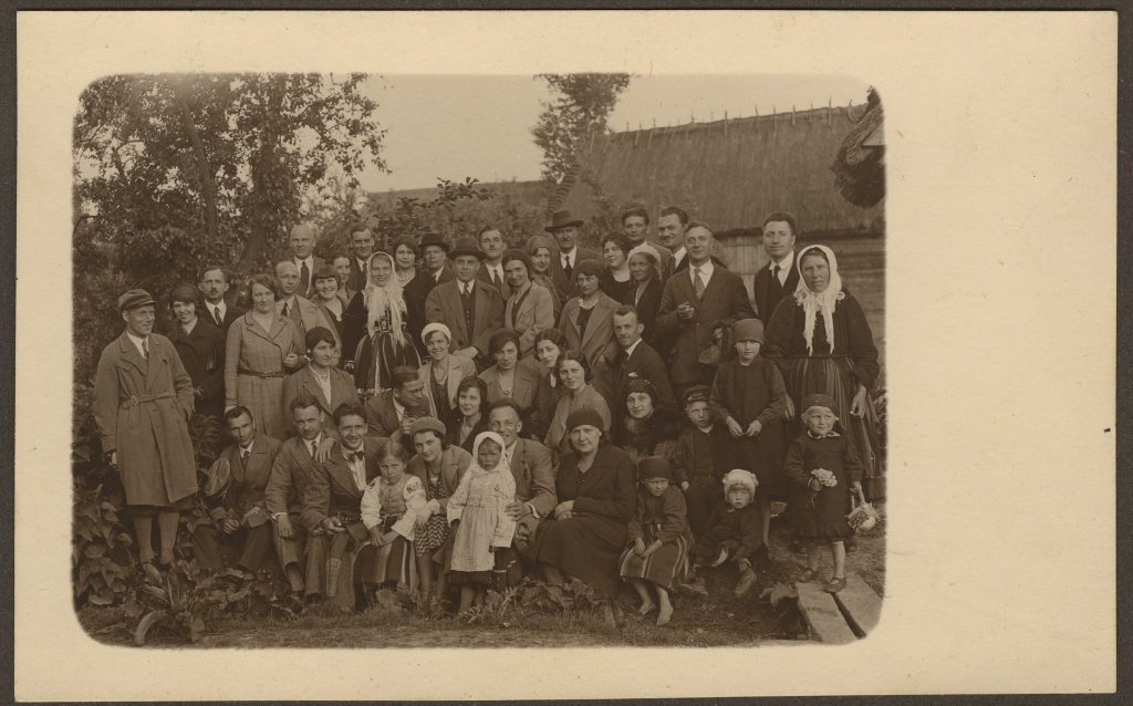 Wycieczka doŁowicza 1932 r.