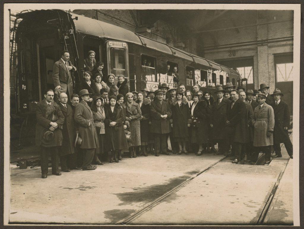 Wycieczka do Zakładów Naprawczych Taboru Kolejowego