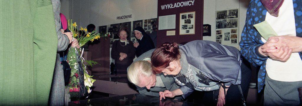Marek Kononowicz z Bożeną Koroczycką
