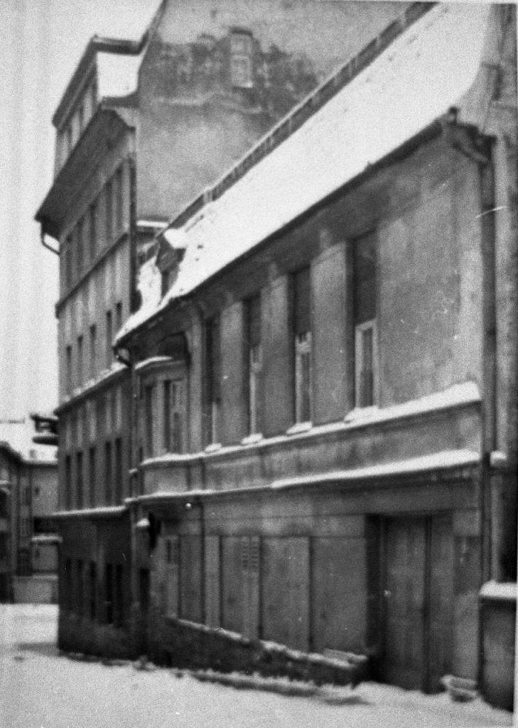 Pierwsza siedziba reaktywowanego po II wojnie światowej w Łodzi.